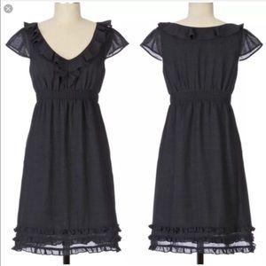 Maeve wool blend charmed life ruffle dress